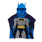 Batman Size 2T-4T Hooded Poncho