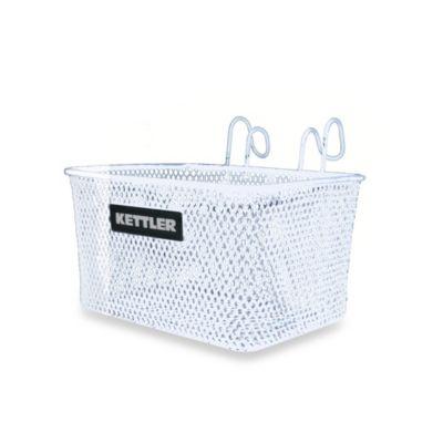 Kettler® Kettrike Metal Tricycle Basket in White