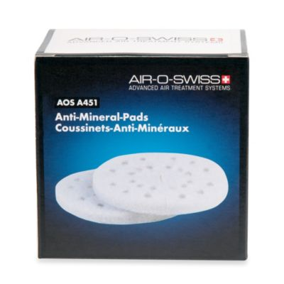 Air-O-Swiss® Anti-Mineral Pads