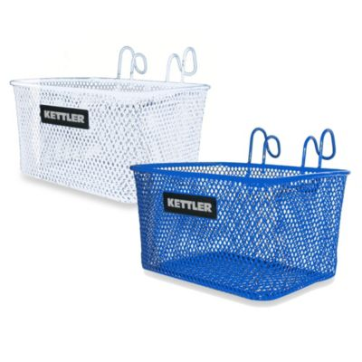 Kettler® Kettrike Metal Tricycle Basket in White