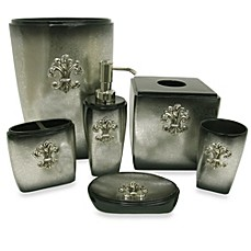 Http Www Bedbathandbeyond Com Store Product Bacova Fleur De Lis Bathroom Accessory Collection 210370
