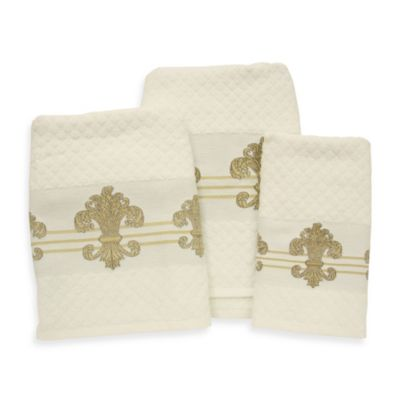 Buy Decorative Gold Towels From Bed Bath Amp Beyond