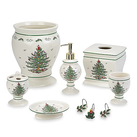Spode Christmas Tree Lotion Dispenser