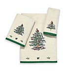 Spode® Christmas Tree Fingertip Towel