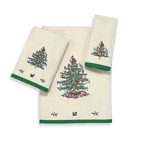 Spode Christmas Tree Towel Collection Buybuy Baby
