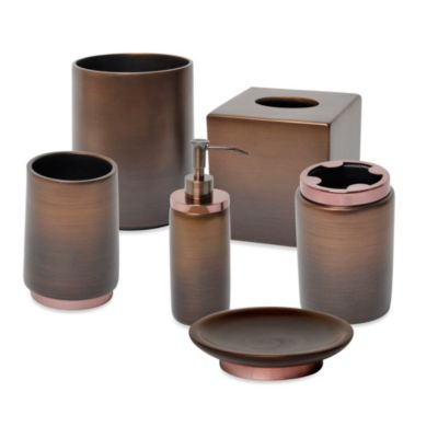 Veruka Bronze Waste Basket