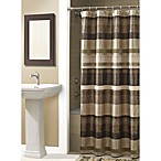 Croscill® Portland 54-Inch x 78-Inch Shower Curtain in Bronze