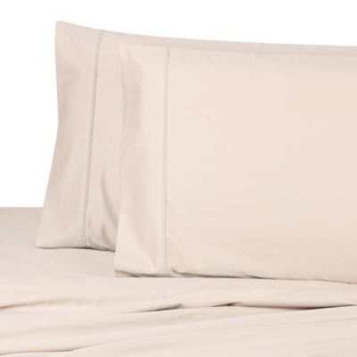 Wamsutta® Dream Zone® 1000 Sateen Standard Pillowcase Pair (Set of 2) in Taupe