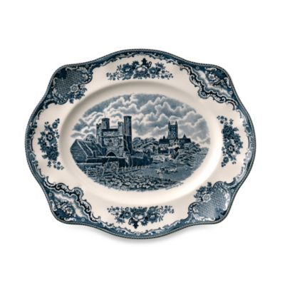 Johnson Brothers Old British Castles Medium Platter