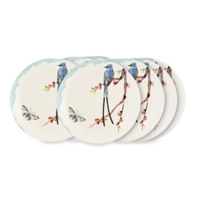 Fitz & Floyd Flourish 11-Inch Dinner Plate (Set of 8)