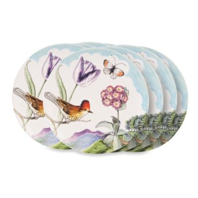 Fitz & Floyd Flourish 9-Inch Salad Plates (Set of 8)