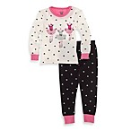 Petit Lem™ 2-Piece Long Pajamas in Heart Ballet
