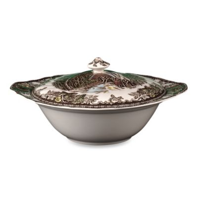 Friendly Village 8-Inch Covered Vegetable Bowl