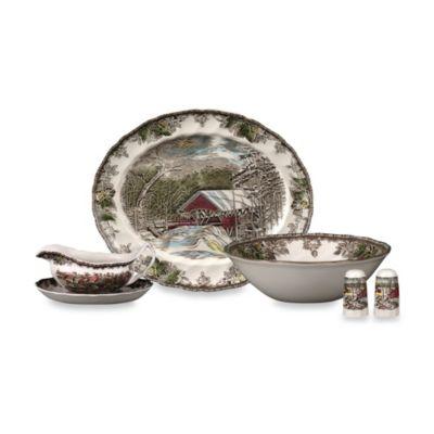 Johnson Brothers Friendly Village 6-Piece Completer Set