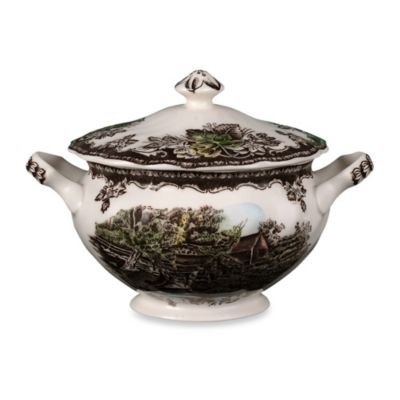 Friendly Village 6-Inch Covered Sugar Bowl