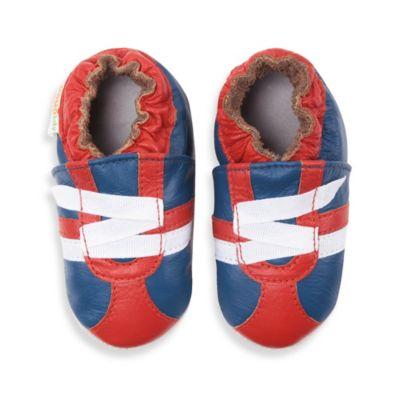 Z-Strap Navy Boys' Shoes