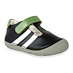Momo Baby Toddler Sporty Stripe Leather Shoes