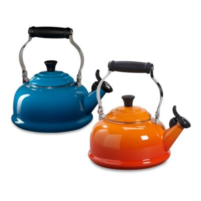 Le Creuset® 1.75-Quart Whistling Tea Kettle in Cassis