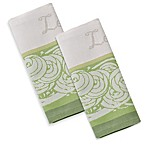 Garnier-Thiebaut Basilic Vert 22-Inch x 30-Inch Kitchen Towels (Set of 2)