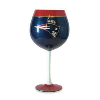 NFL New England Patriots 33-Ounce Artisan Wine Glass