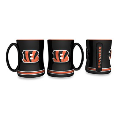 NFL Cincinnati Bengals Ceramic Sculpted Relief Mug