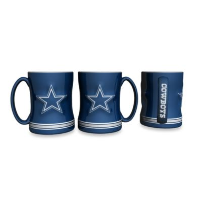 NFL Dallas Cowboys 15-Ounce Boxed Relief Sculpted Mug