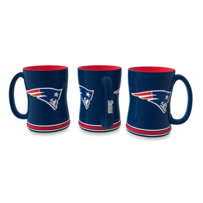 NFL New England Patriots Ceramic Sculpted Relief Mug
