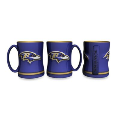 NFL Baltimore Ravens Ceramic Sculpted Relief Mug