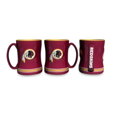 NFL Washington Redskins Ceramic Sculpted Relief Mug