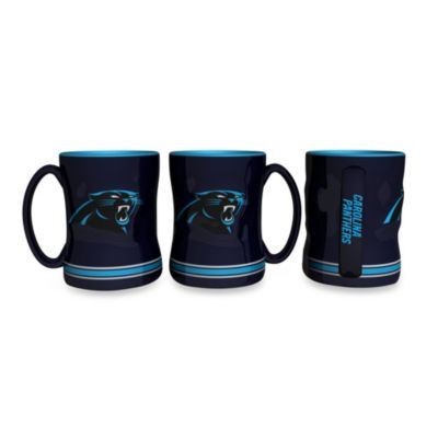 NFL Carolina Panthers Ceramic Sculpted Relief Mug