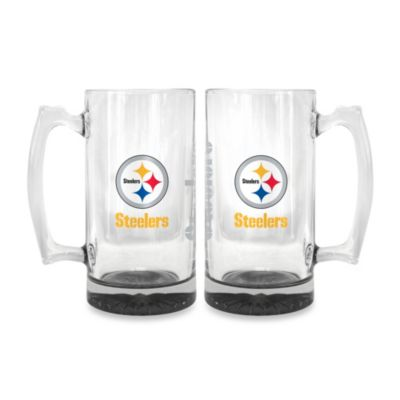Team Color Glass Tankard