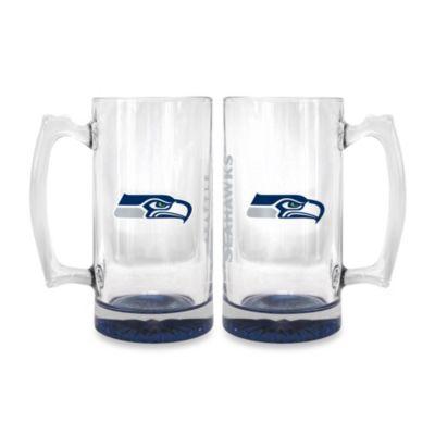 NFL Seattle Seahawks Elite Glass Tankard