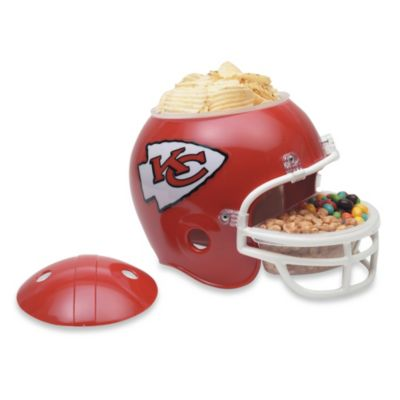 NFL Kansas City Chiefs Snack Helmet