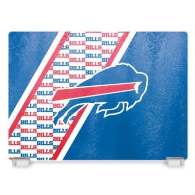 NFL Buffalo Bills Tempered Glass Cutting Board