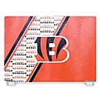 Cincinnati Bengals Tempered Glass Cutting Board