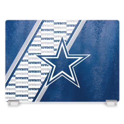 NFL Dallas Cowboys Tempered Glass Cutting Board