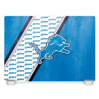 NFL Detroit Lions Tempered Glass Cutting Board