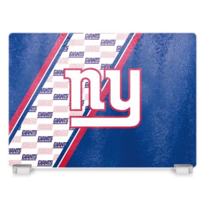 NFL New York Giants Tempered Glass Cutting Board