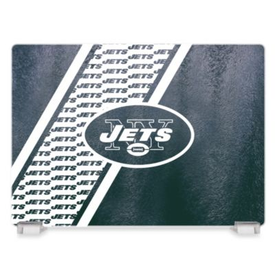 NFL New York Jets Tempered Glass Cutting Board