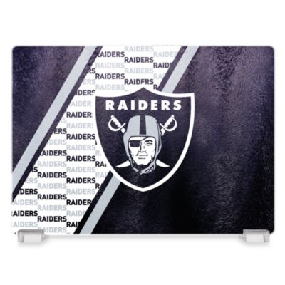 Oakland Raiders Tempered Glass Cutting Board