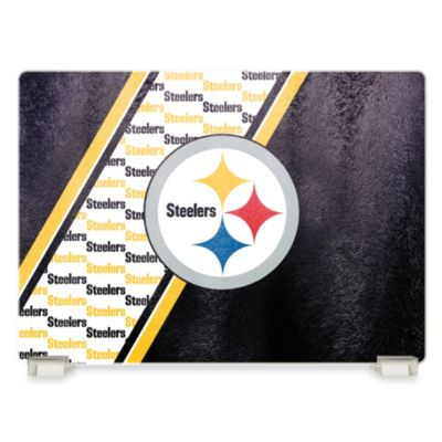 NFL Pittsburgh Steelers Tempered Glass Cutting Board