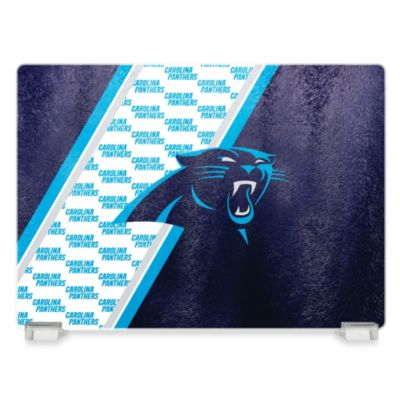 NFL Carolina Panthers Tempered Glass Cutting Board