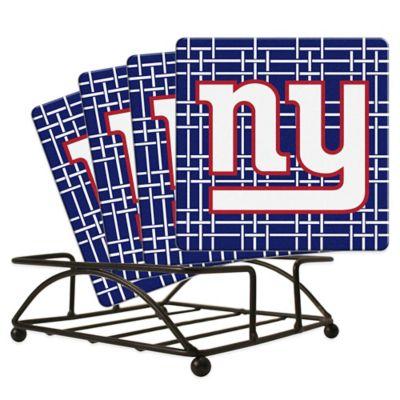 NFL New York Giants Ceramic Coasters (Set of 4)