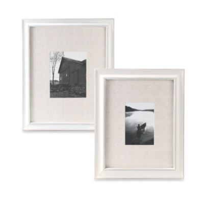 Malden® Barnside Matted Picture Frame in Cream