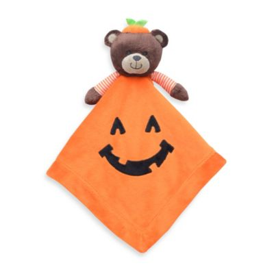 Carter's® Pumpkin Bear Plush Security Blanket