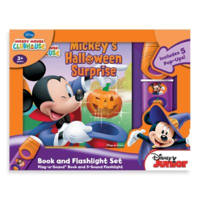 Disney® Mickey Mouse Clubhouse Mickey's Halloween Surprise Book and Flashlight Set