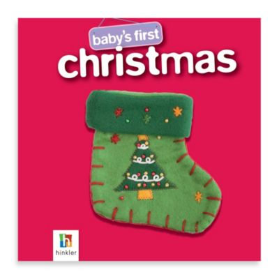 Baby's First Christmas Board Book
