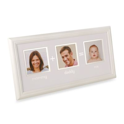 Pearhead Mommy + Daddy = Me 3 Opening Photo Frame