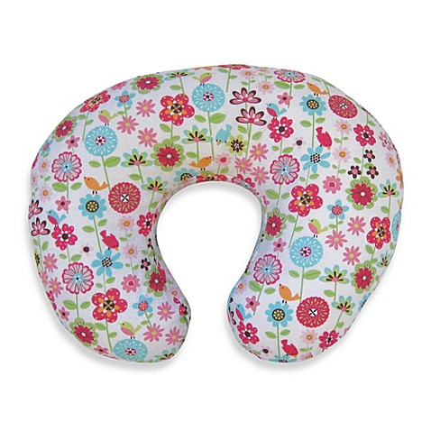 Boppy 174 Infant Feeding Support Pillow With Backyard Bloom