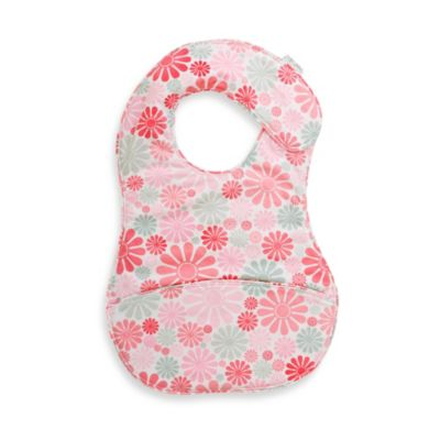 C.R. Gibson® iotababy! Crumb Catcher Bib in Flower Girl